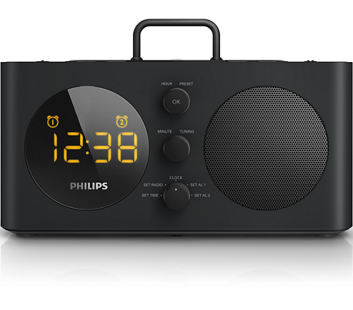 Philips AJ6200DB Alarm Clock radio for iPod/iPhone